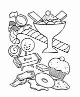 Coloring Cream Pages Cone Peanut Icecream Ice Butter Sandwich Sheets Sundae Print Kitty Printable Hello Getdrawings Getcolorings Bear Party Princess sketch template