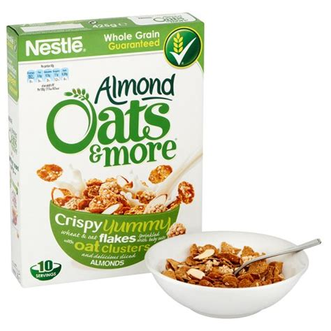 almond sliced 1 kg nestle oats and more almond cereal 425g foods direct