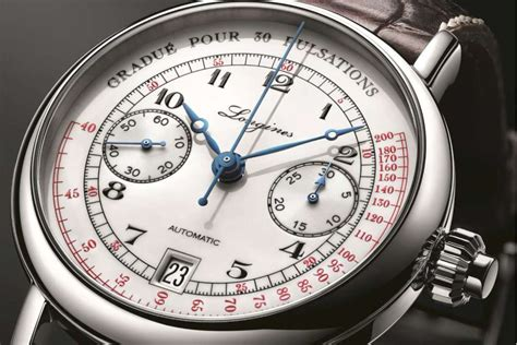 Longines Pulsometer Chronograph - Time Transformed