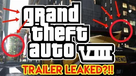 grand theft auto  leaked trailer teaser  gta viii