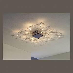 Lampe Küche Decke : quadratische decken oder wandlampe von escale ~ One.caynefoto.club Haus und Dekorationen