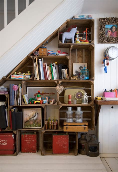shoe rack stairs clever ways to create staircase storage