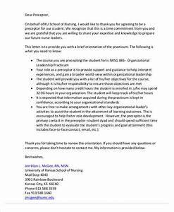 how to write a letter to preceptor image collections With nursing preceptorship cover letter