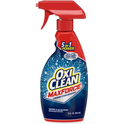 Amazon.com: OxiClean Laundry Stain Remover Spray, 21.5 oz