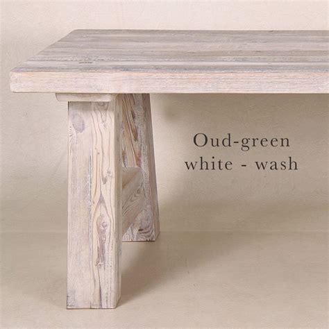 grenen tafel white wash landelijke stevige grote oud grenen tafles white wash