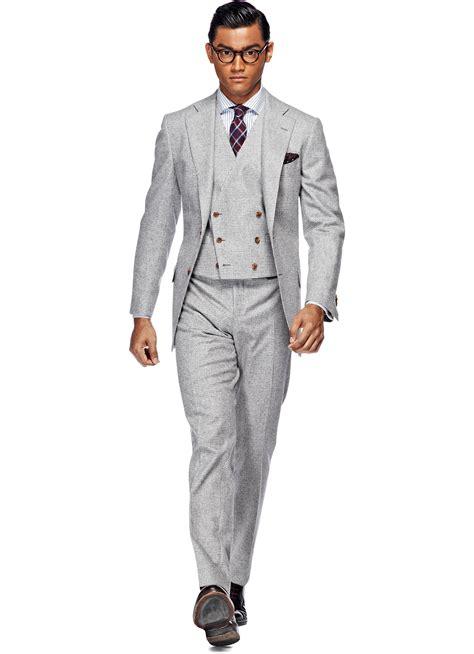 light grey suit suit light grey check lazio p3694i suitsupply