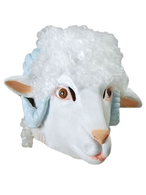 animal lamb masks partynutters uk
