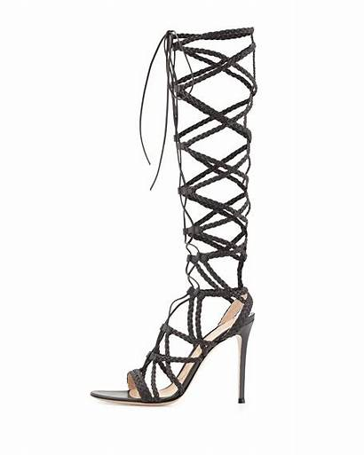 Caged Sandal Braided Leather Gianvito Rossi Sold