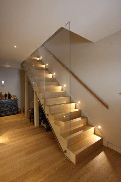 functional ideas  illuminating  internal stairs