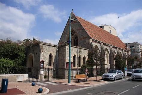 chambre d hote menton photo d 39 une église anglicane à menton