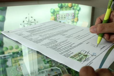 contoh surat perjanjian jual beli tanah rumah