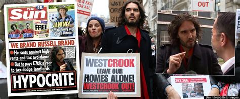 russell brand soas the sun hits back at hypocrite russell brand by saying
