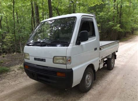 *sold*thanks Richard*1992 Suzuki 4×4 Mini Truck, Street