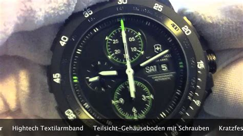 victorinox alpnach mechanical chrono  wwwolfertco