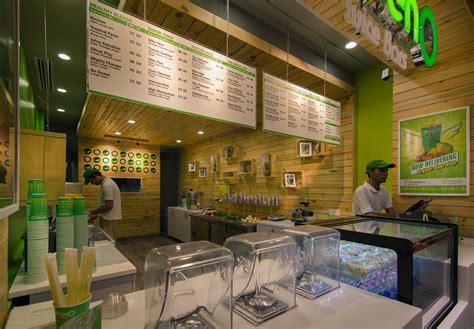 juice bar greeno retail behance multiple