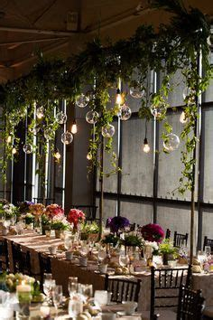 wedding greenery globe lights Google Search Wedding