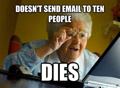 Grandma Meme Computer - grandma finds the internet know your meme