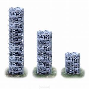 Gabione Rund 100 Cm : gabionen 3er set 150 100 50cm 33cm rund gabione ~ A.2002-acura-tl-radio.info Haus und Dekorationen