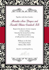 black and white wedding invitations templates With black and white wedding invitations free download