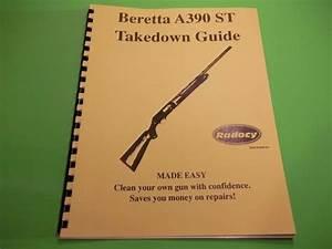 Takedown Manual Guide Beretta A390 St Semi Auto Shotgun