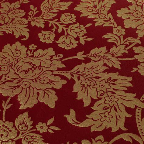 damasco corina rojo comprar telas por metro