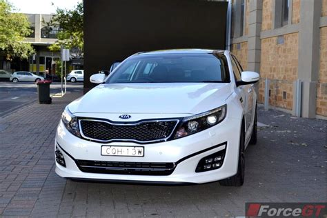 Kia Optima Reviews 2014 by 2014 Kia Optima Review Optima Platinum Front Forcegt