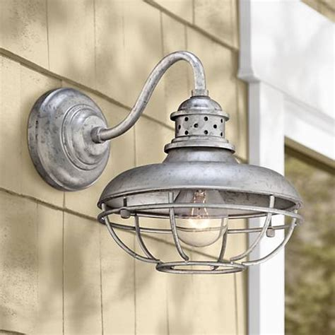 franklin park 13 quot high galvanized steel outdoor wall light