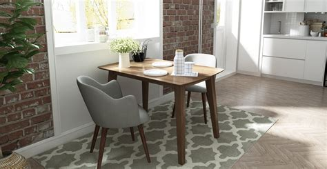 dining table styles  small spaces brosa