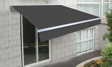 container door  retractable awning