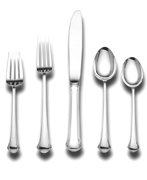 macys silver silverware place sterling towle setting flatware stainless cutlery chippendale www1 dining registry st