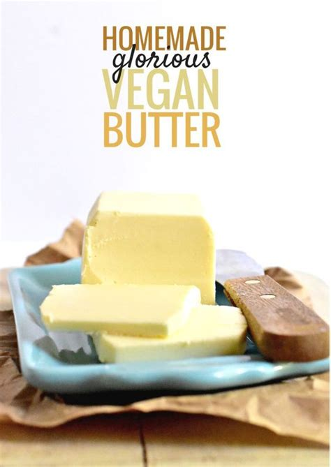 butter replacement homemade smooth and butter substitute on pinterest
