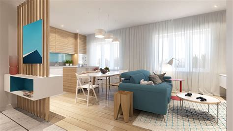 Colorful Modern Apartment Décor  Adorable Home
