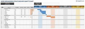 Wbs template excel calendar template excel for Product breakdown structure excel template
