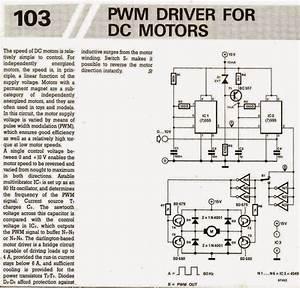 Pwm Motor Speed Controller Circuit Using Ic556