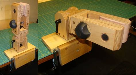small leather craft stitching pony vise tool  optional