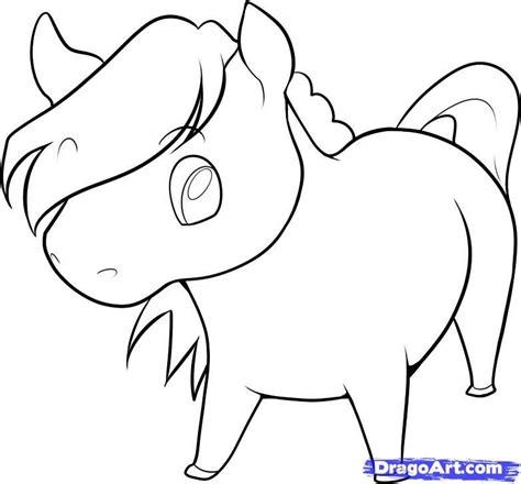 draw  easy horse step  step farm animals