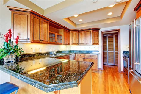 how to bring back the shine on your countertops