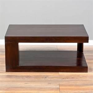 Massivholz Tv Board : couchtisch shiva dark brown a 90x60cm akazie massivholz tv board 3718 ~ Watch28wear.com Haus und Dekorationen