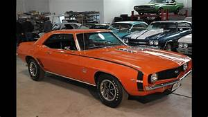 Muscle Car For Sale 1969 Camaro Ss 396  375 X