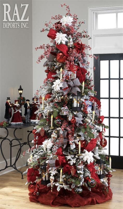 christmas trees victorian images  pinterest