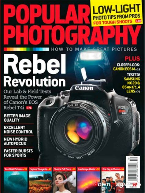 Popular Photography Magazine  October 2012 » Download Pdf