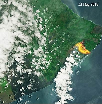 Lava Hawaii Flow Space Storage Esa
