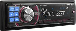 Alpine Adds 2 New Cd Head Units For 2009