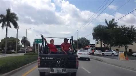 Old Couple In The Back Of A Pick Up Truck Youtube