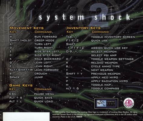System Shock 2 1999 Box Cover Art Mobygames