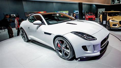 2014 Jaguar F-type Coupe Launched In India At Rs 1.21