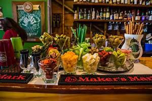Brunch Wedding Ideas: Build Your Own Bloody Mary Bar