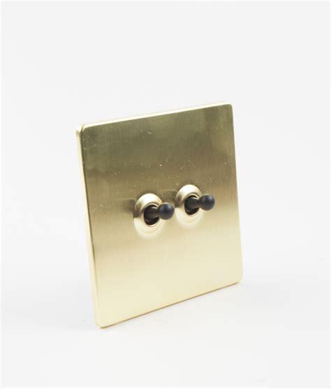 hairpin wall shelf toggle light switch 2 toggle gold black designer light