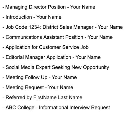 introduction email  job application introduction