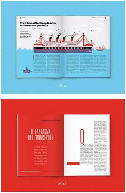 Layout Magazine Creative Layouts Editorial Web Cool